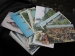 Post Cards, Group of 39, 1940's and 50's. Include Indians, Old Missions, Cemetery, and Scenes