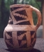 Native American Prehistoric Item - Anasazi Red Mesa Type Mug. Mug has excellent and strong color