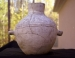 Native American Prehistoric Item - Mesa Verde Olla, Very Large, Black on White Olla with handles on each side