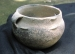 Native American Prehistoric Item - Mississippian Strap-Handled effigy Pot