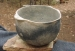 Native American Prehistoric Item - Mississippian Pottery Bowl. Large Utility Greyware with Handles